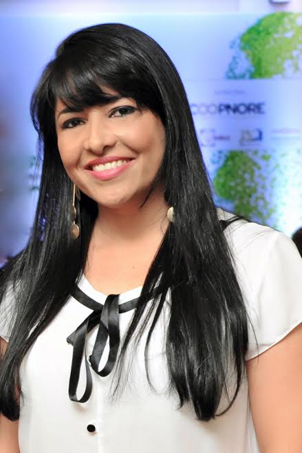 A produtora de eventos Anna Barros