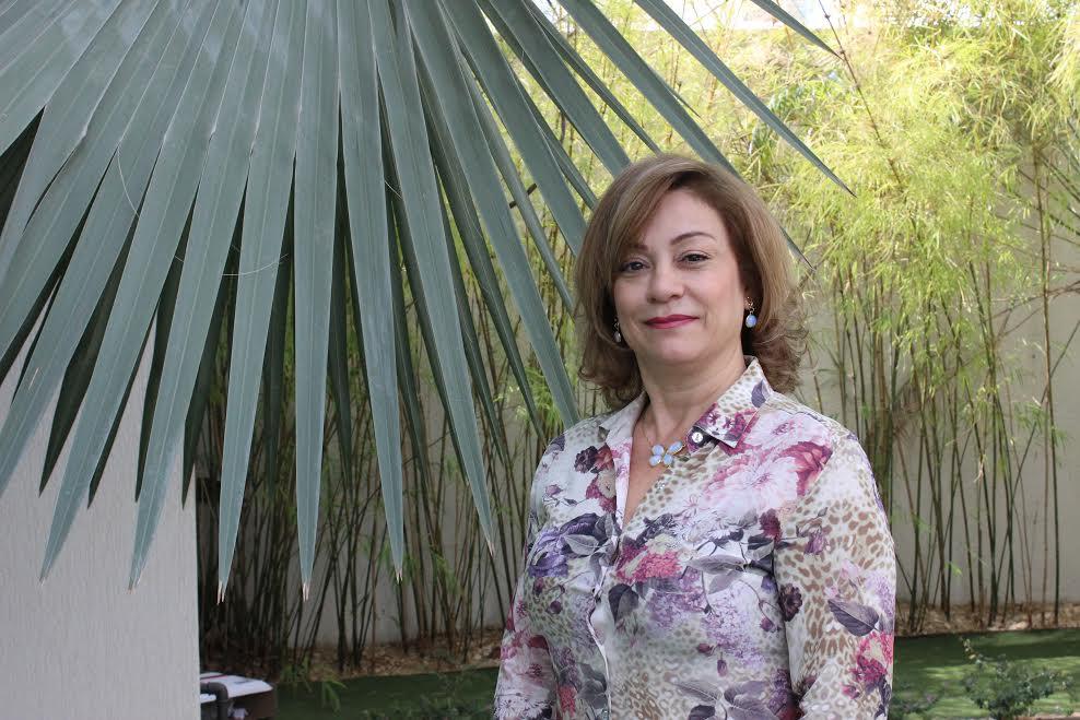 A master franqueada CVC do estado de Goiás, Eliana Martins