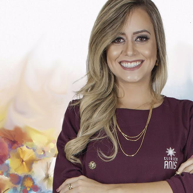 A biomédica Bruna Rodrigues